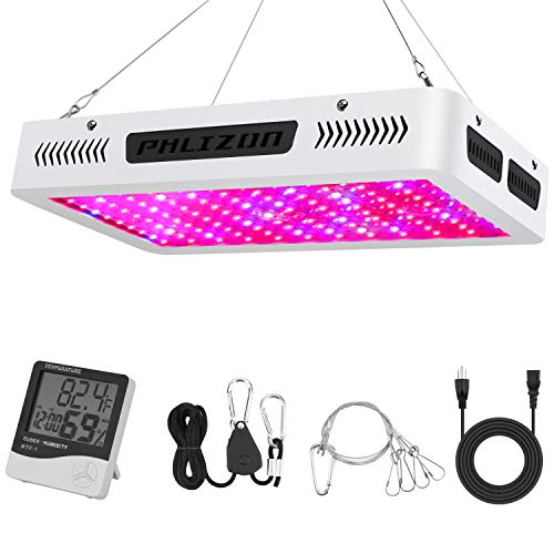 Phlizon Newest Winter 1200W High Power Series Plant LED Grow Light