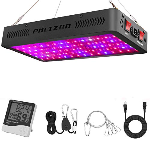 Phlizon Newest Winter 900W LED Plant Grow Light