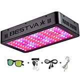 BESTVA DC Series 1000W LED Grow Lights Full Spectrum Indoor Plants Veg and Flower