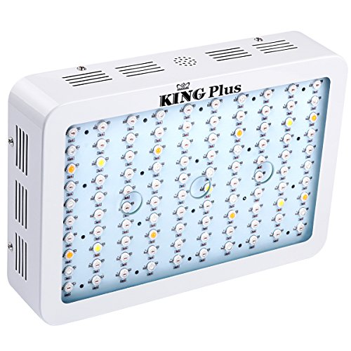 King Plus 1000w Full Spectrum Grow Light With Double Chips