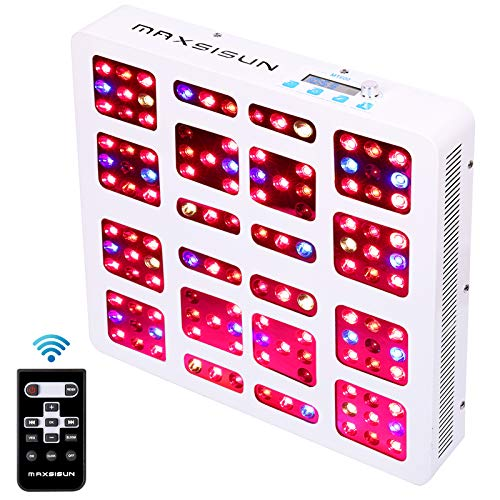 MAXSISUN MT600 Timer Control 600W Dimmable LED Grow Light