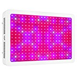 Morsen 2000W Double Chips LED Grow Light Full Spectrum 200x10W Grow
