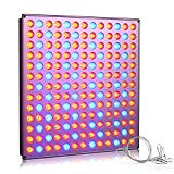 Roleadro LED Grow Light Bulb, 45w Plant Growing Lights Lamp Panel with Red and Blue Spectrum