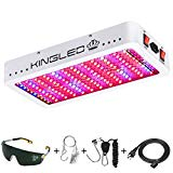 King Plus 1200w LED Grow Light Double Chips Full Spectrum Grow Light