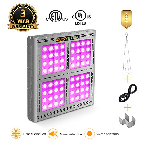 MARS HYDRO Pro II Epistar 1600W Full Spectrum LED Grow Lights