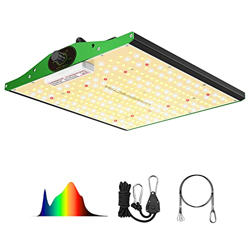Grow Light, VIPARSPECTRA Newest P1000 Full Spectrum LED Grow Light for Indoor Plants, High PPFD Dimmable Plant Grow Lights 2x2ft Coverage for Hydroponic Indoor Plants Veg Flower