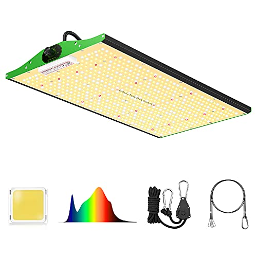 Grow Light, VIPARSPECTRA Newest P2000 LED Grow Light 4x2ft Coverage Full Spectrum LED Grow Lights with Upgraded SMD LEDs(Includes IR), Dimmable Plant Light for Indoor Plants Seeding Veg and Bloom